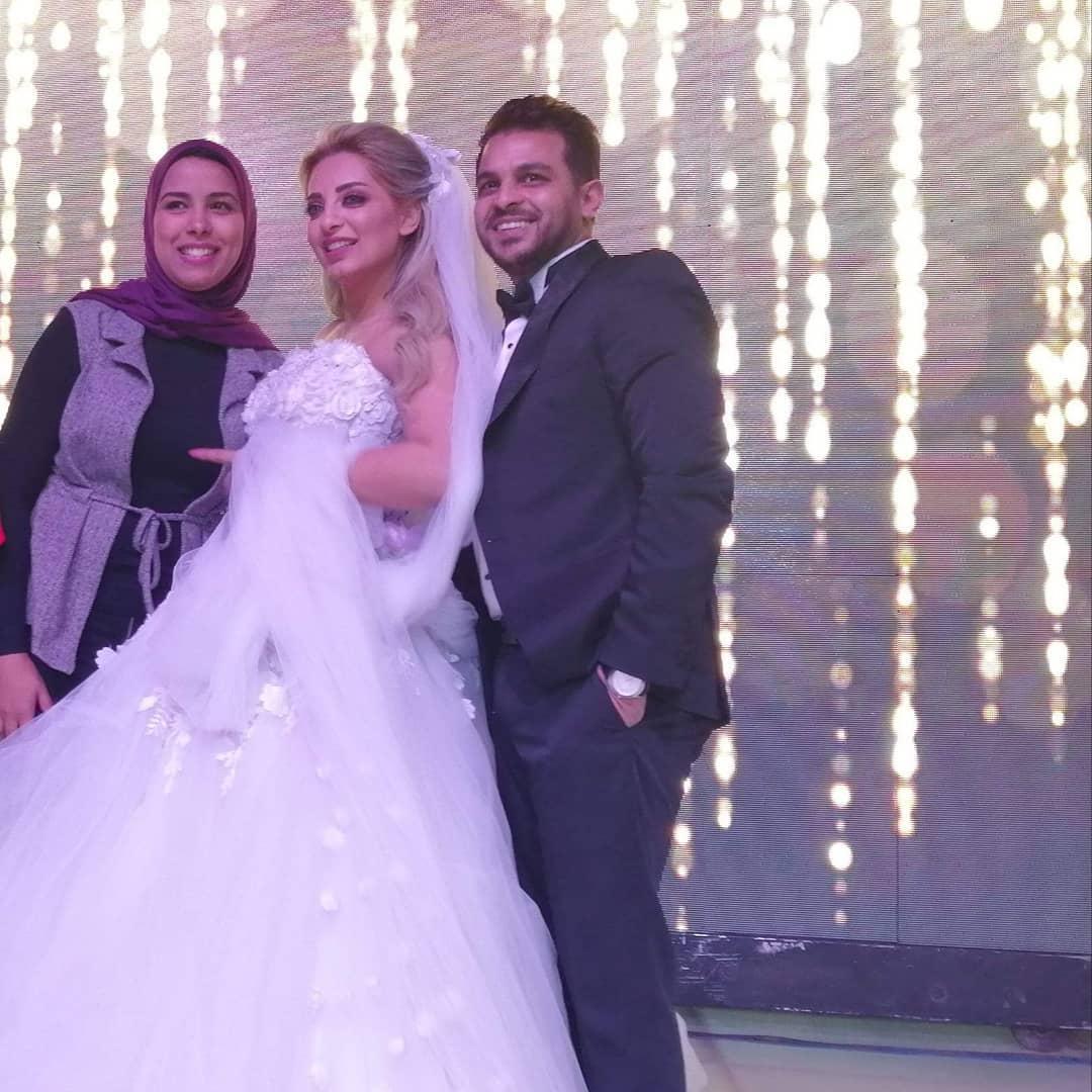 حفل زفاف مى حلمى ومحمد رشاد  (3)