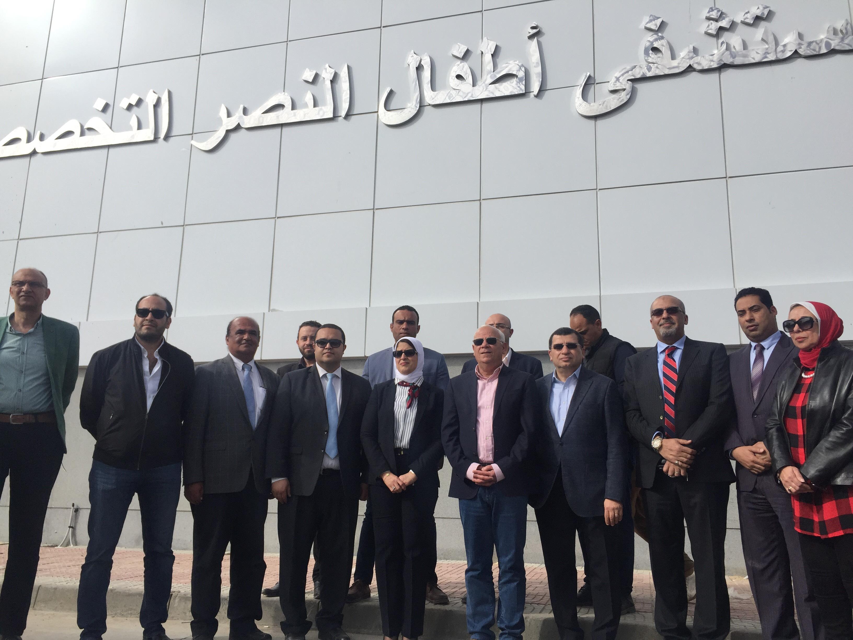وزيرة الصحة تتفقد مستشفى أطفال النصر (14)