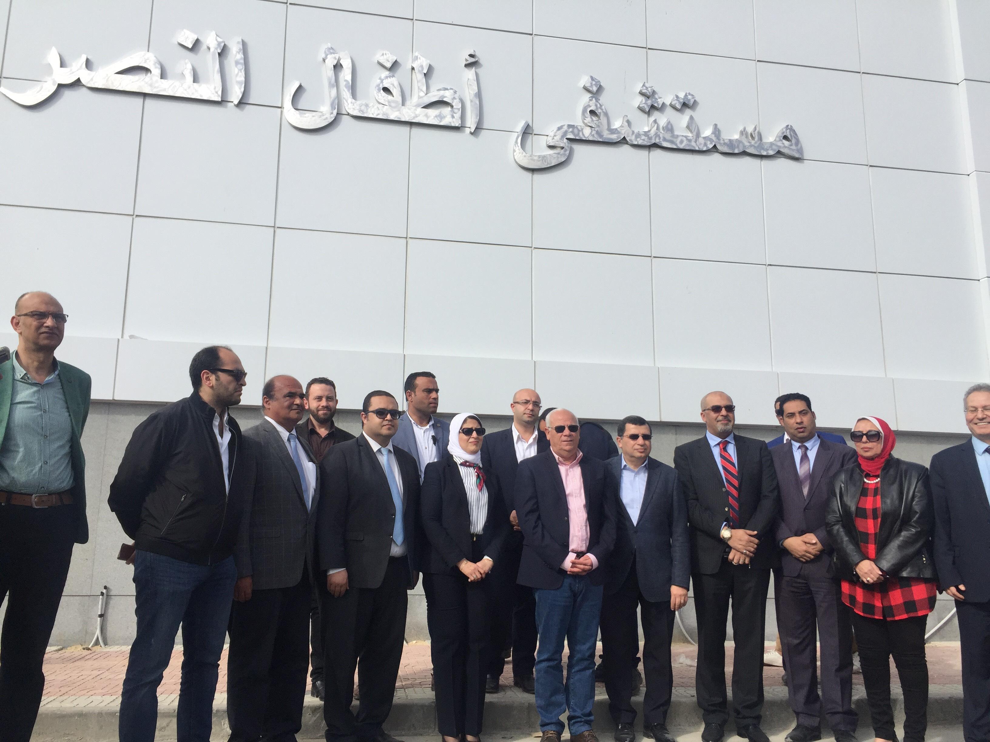 وزيرة الصحة تتفقد مستشفى أطفال النصر (13)