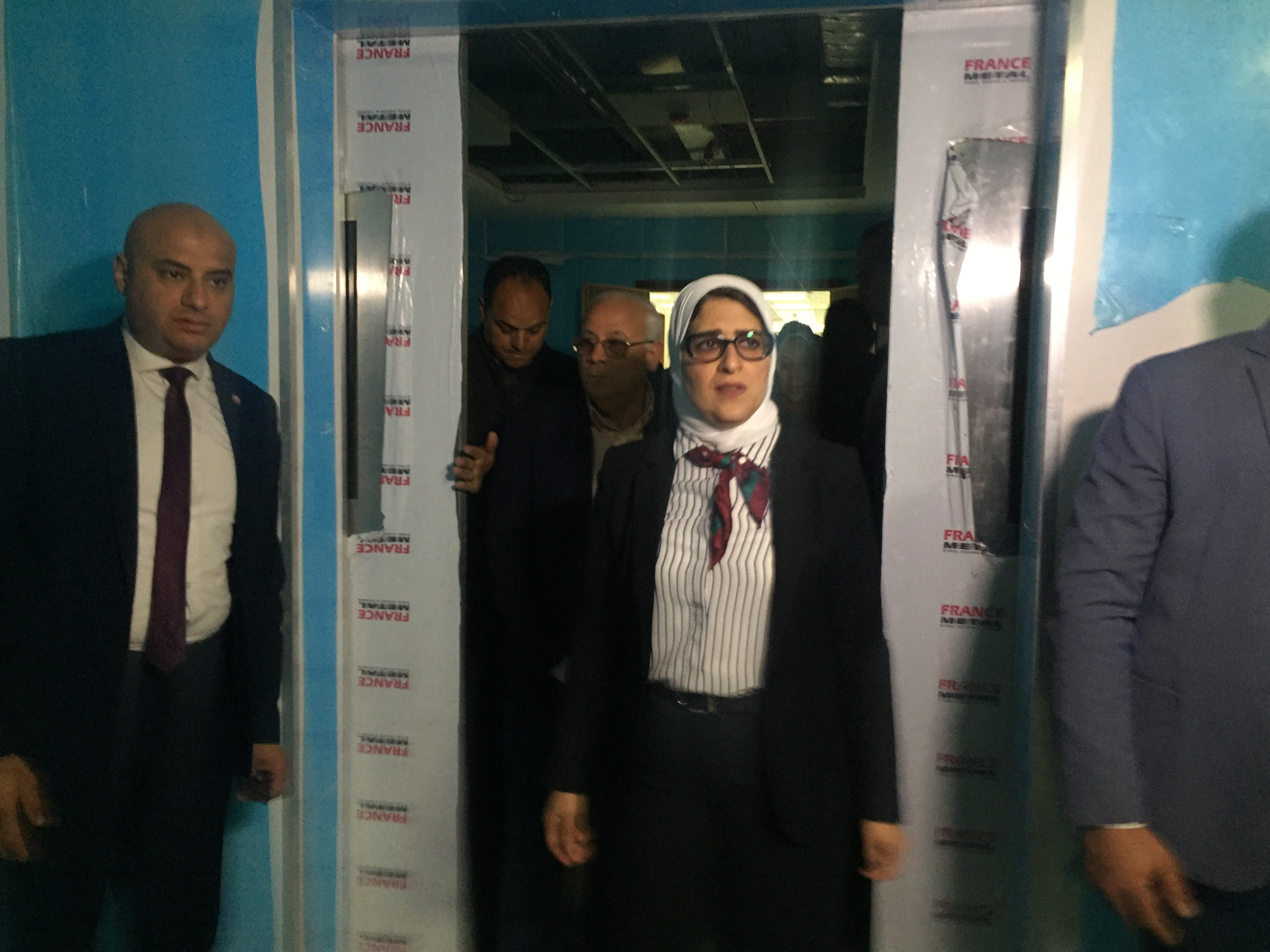 وزيرة الصحة تتفقد مستشفى أطفال النصر (9)