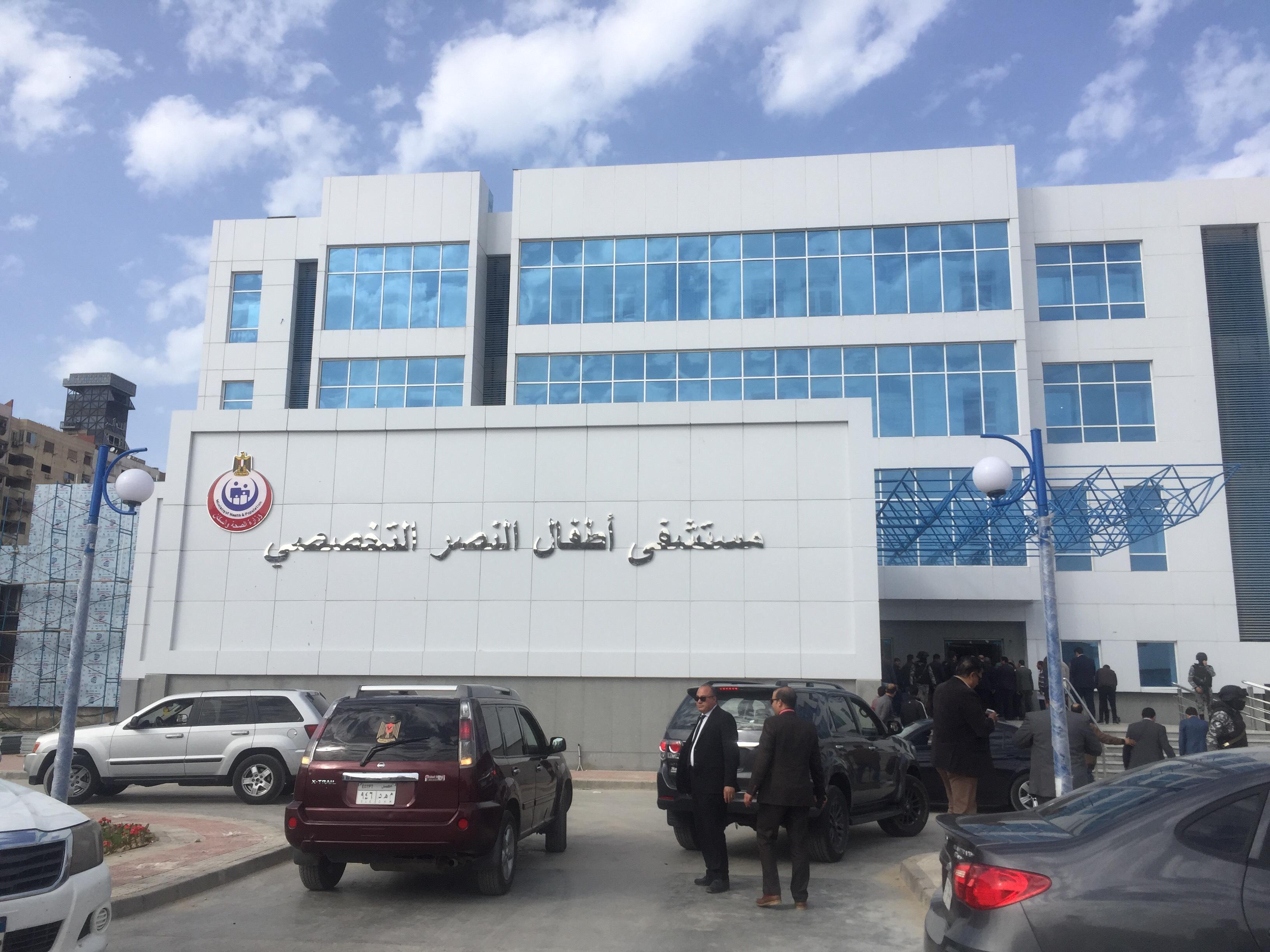 وزيرة الصحة تتفقد مستشفى أطفال النصر (15)