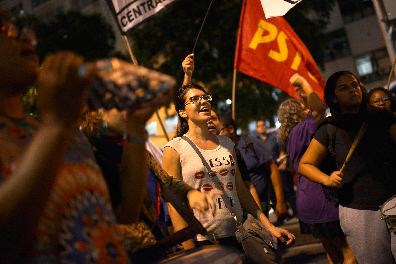 مظاهرات فى البرازيل ضد رفع سن التقاعد (2)