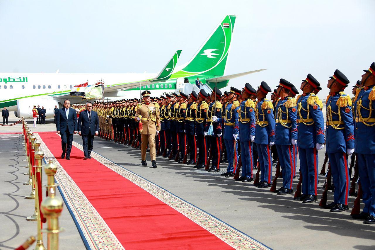 وصول رئيس وزراء العراق
