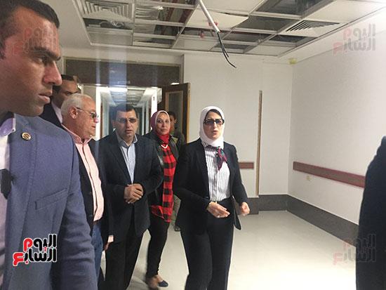 وزيرة-الصحة-تتفقد-مستشفى-أطفال-النصر-(6)