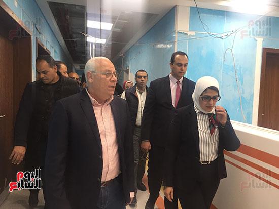 وزيرة-الصحة-تتفقد-مستشفى-أطفال-النصر-(10)