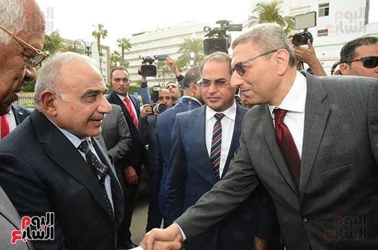 رئيس النواب يستقبل رئيس وزراء العراق بـالبرلمان (5)