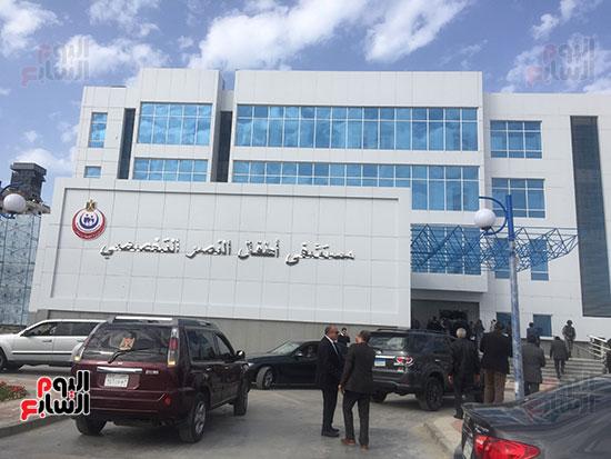 وزيرة-الصحة-تتفقد-مستشفى-أطفال-النصر-(1)