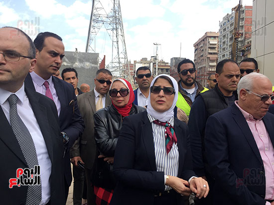 وزيرة-الصحة-تتفقد-مستشفى-بورسعيد-العام-(13)
