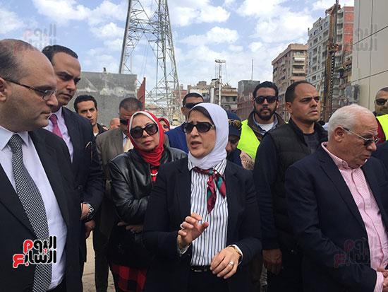 وزيرة-الصحة-تتفقد-مستشفى-بورسعيد-العام-(14)