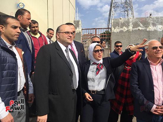 وزيرة-الصحة-تتفقد-مستشفى-بورسعيد-العام-(12)