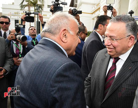 رئيس النواب يستقبل رئيس وزراء العراق بـالبرلمان (3)