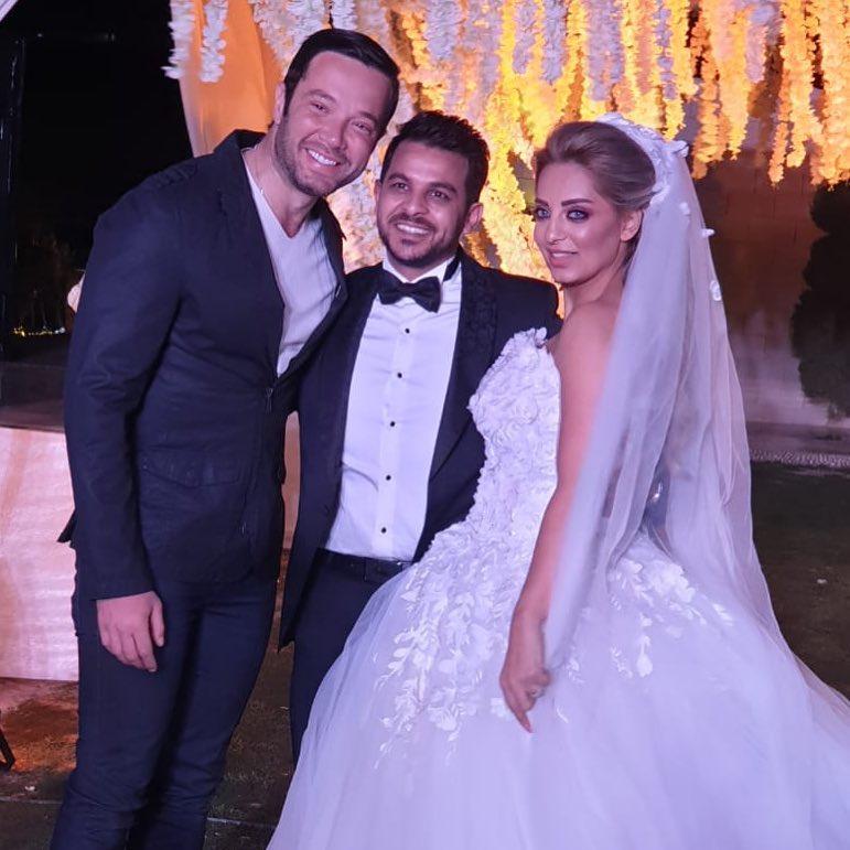 حفل زفاف مى حلمى ومحمد رشاد