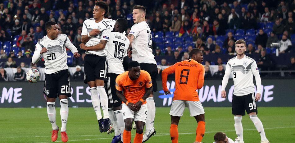 هولندا أمام ألمانيا تعادلا 2-2 فى اخر مواجهة