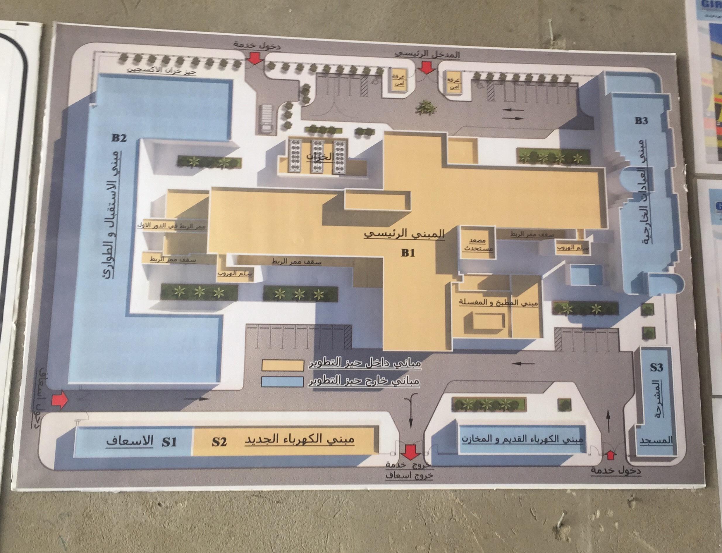 الأعمال الإنشائية والتجهيزات فى مستشفى بورفؤاد العام (1)