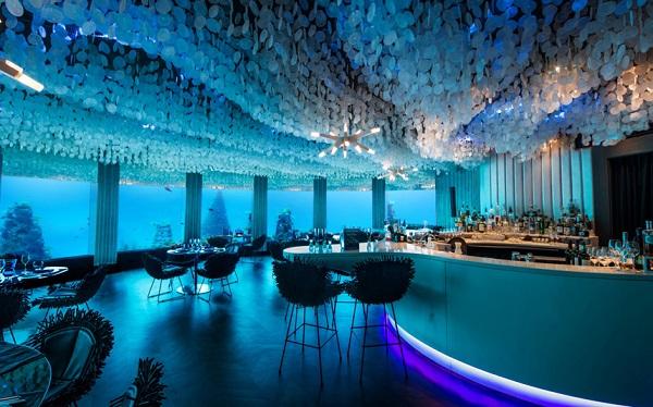 مطعم سى فى المالديف