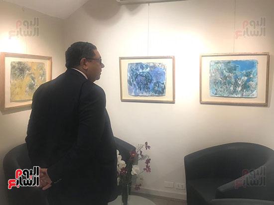 افتتاح معرض الفنانة نازلى مدكور بالزمالك (14)