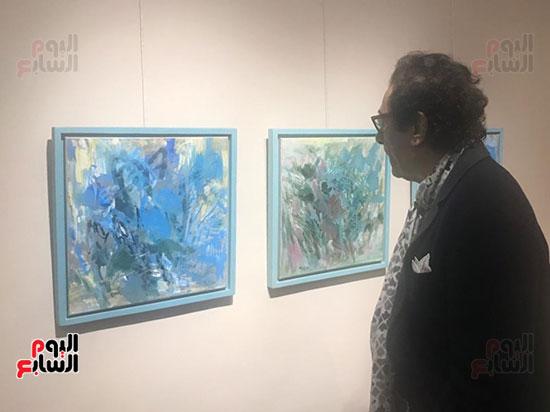 افتتاح معرض الفنانة نازلى مدكور بالزمالك (7)