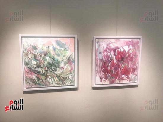 افتتاح معرض الفنانة نازلى مدكور بالزمالك (23)