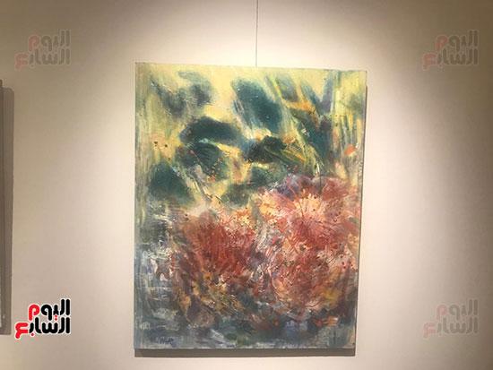 افتتاح معرض الفنانة نازلى مدكور بالزمالك (17)