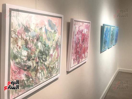 افتتاح معرض الفنانة نازلى مدكور بالزمالك (18)
