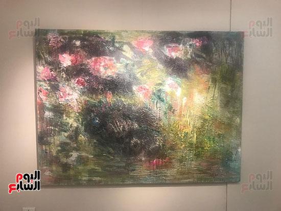 افتتاح معرض الفنانة نازلى مدكور بالزمالك (19)