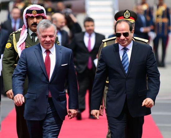 قمة ثلاثية بين زعماء مصر والأردن والعراق لتعزيز التعاون (6)