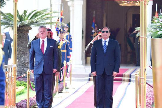 قمة ثلاثية بين زعماء مصر والأردن والعراق لتعزيز التعاون (7)