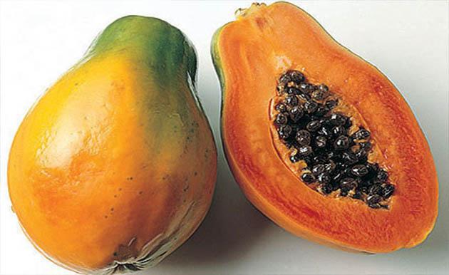 البابايا فاكهة