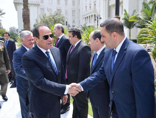 قمة ثلاثية بين زعماء مصر والأردن والعراق لتعزيز التعاون (12)