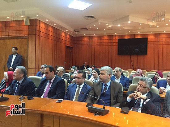 مؤتمر وزيرة الصحة (4)