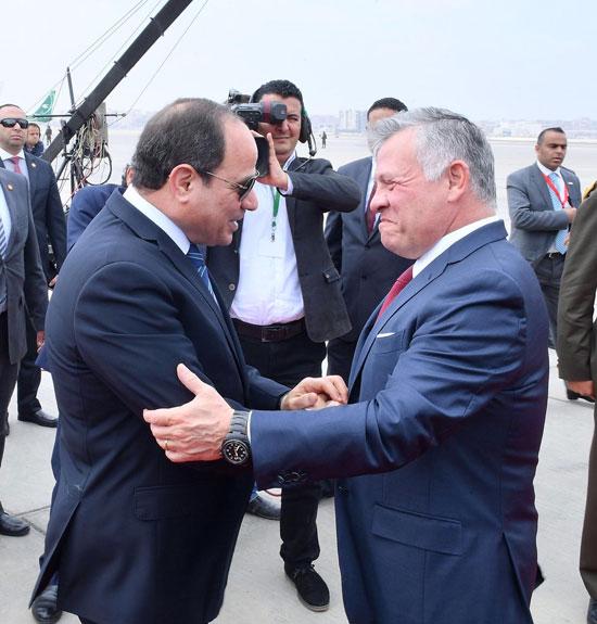 قمة ثلاثية بين زعماء مصر والأردن والعراق لتعزيز التعاون (9)