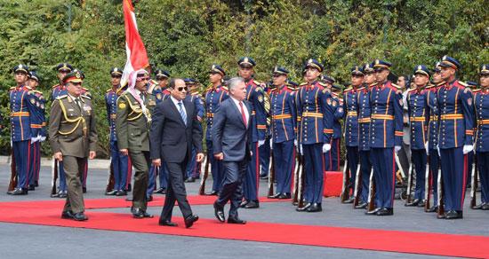 قمة ثلاثية بين زعماء مصر والأردن والعراق لتعزيز التعاون (8)