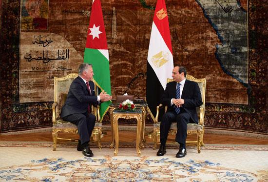 قمة ثلاثية بين زعماء مصر والأردن والعراق لتعزيز التعاون (13)