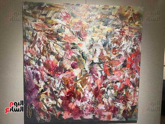 افتتاح معرض الفنانة نازلى مدكور بالزمالك (12)