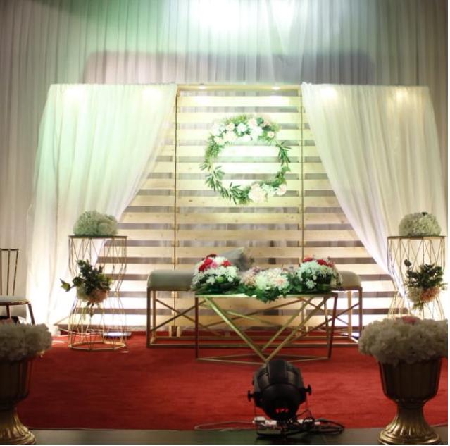استعدادات حفل الزفاف