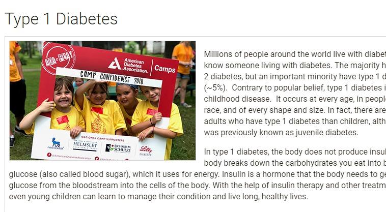 جمعية السكر الأمريكية تضع 5 عوامل للتعايش السليم مع النوع الأول للسكر