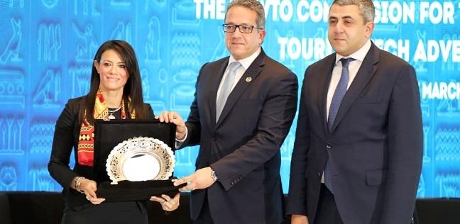 وزير الآثار يشارك فى افتتاح اللجنة الـ 15 لمنظمة السياحة العالمية (6)