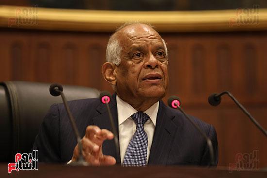 جلسة استماع دكتور علي عبد العال مع النواب (8)
