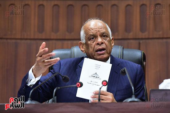 جلسة استماع دكتور علي عبد العال مع النواب (4)