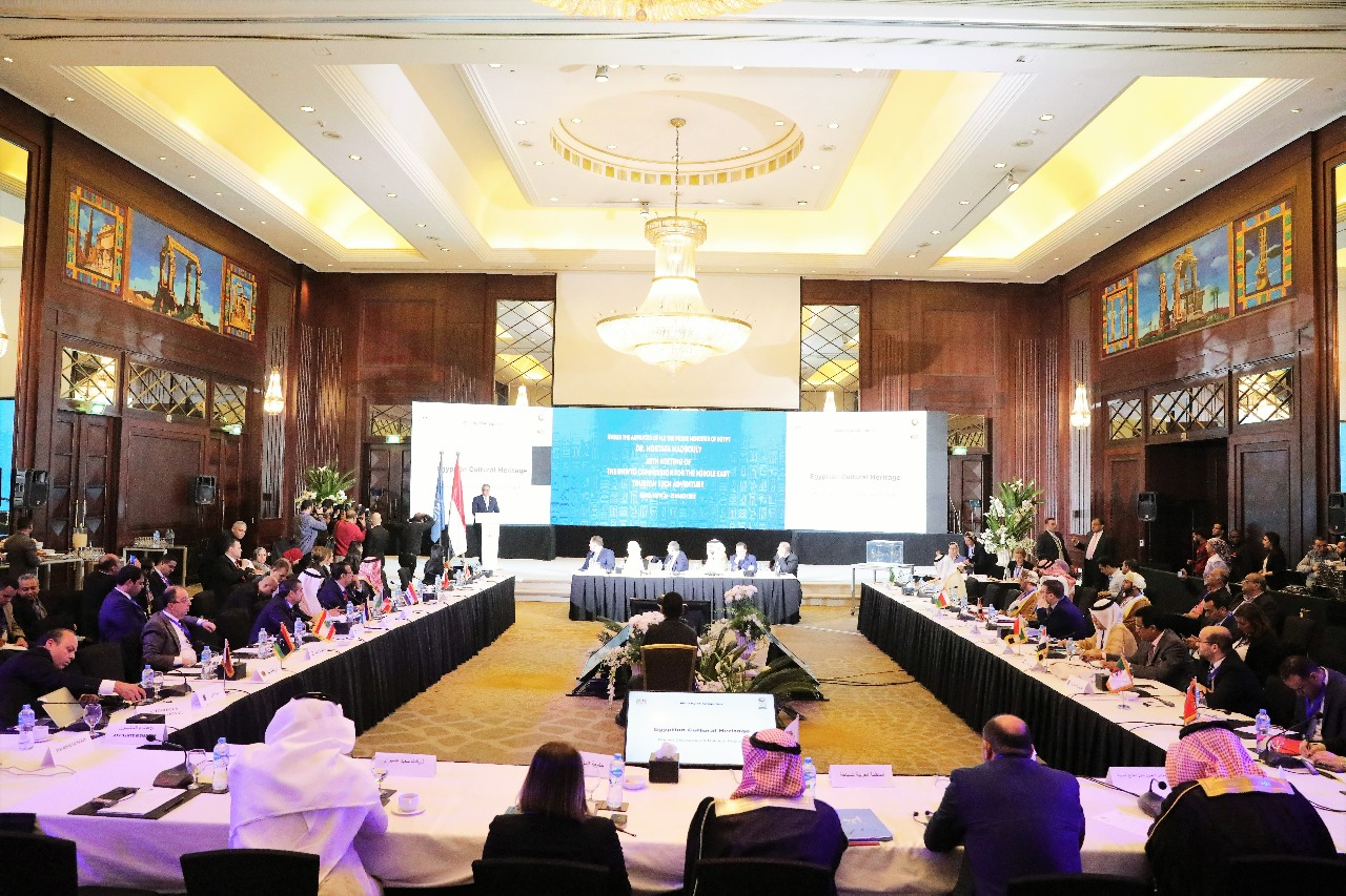 وزير الآثار يشارك فى افتتاح اللجنة الـ 15 لمنظمة السياحة العالمية (5)