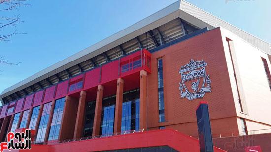 اليوم السابع داخل ملعب آنفيلد مقر نادى ليفربول الإنجليزى (10)
