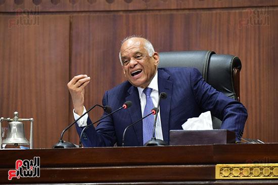 جلسة استماع دكتور علي عبد العال مع النواب (2)