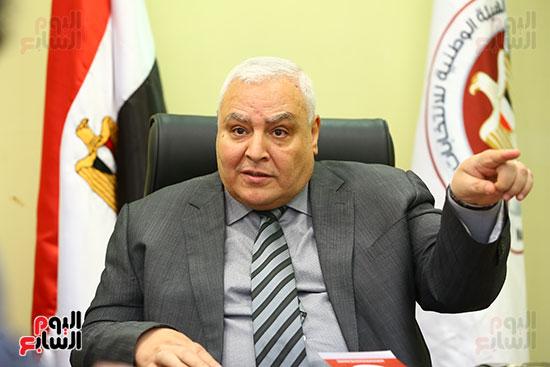 اليوم السابع تنفرد غدا بحوار حصرى مع رئيس الوطنية للانتخابات ونائبه حول الاستفتاء (7)