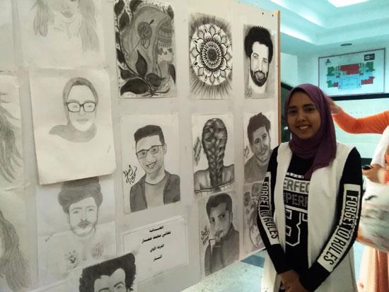 طلاب آداب كفر الشيخ بدرجة موهوبين (6)
