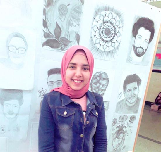 طلاب آداب كفر الشيخ بدرجة موهوبين (49)