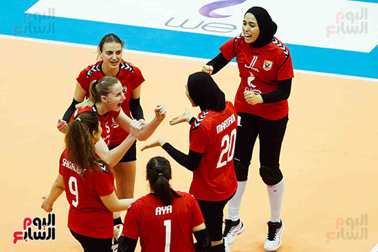 سيدات الكرة الطائرة وقرطاج التونسى (58)