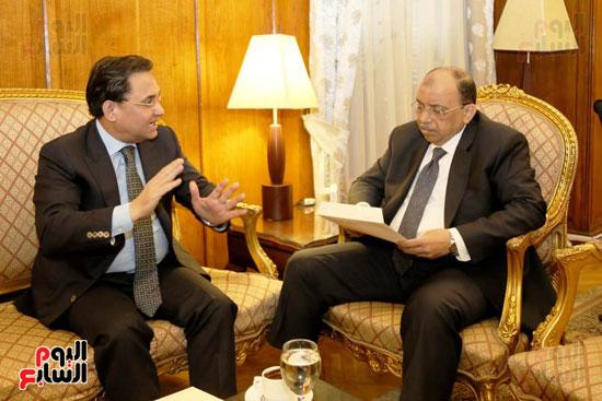النائب عبد الرحيم على واللواء محمود شعراوي (5)