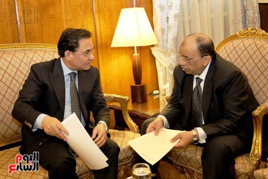 النائب عبد الرحيم على واللواء محمود شعراوي (3)