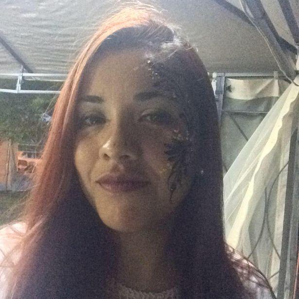 الفتاة ضحية الكلبين جوهانا فيلافان
