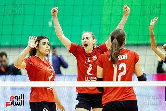 سيدات الكرة الطائرة وقرطاج التونسى (14)
